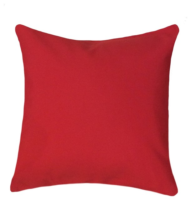 20x20 Red Pillow Cover Decorative Pillows By Pillows