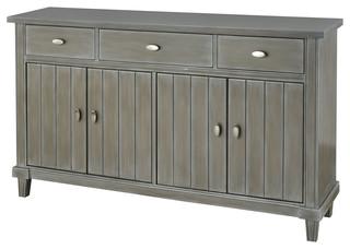 3-Drawer 4-Door Cabinet