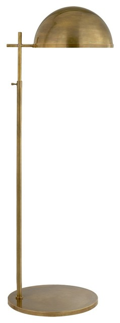 Visual Comfort Lighting Kelly Wearstler Dulcet Floor Lamp, Antique Brass