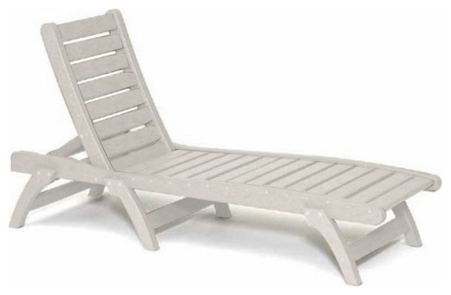 Recycled plastic chaise lounge contoured design traditional outdoor chai - Chaise plexiglass design ...