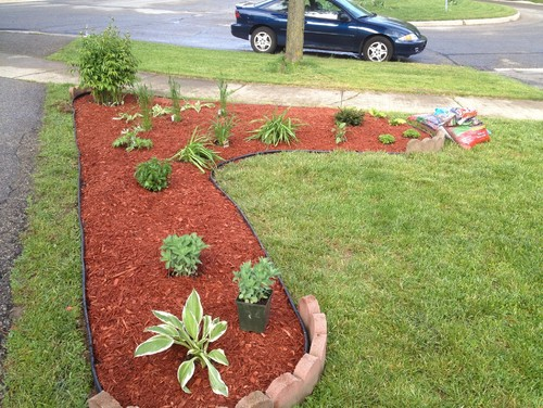 Landscaping Rocks Red Best Of Landscape Front Yard Ideas With Mulch The Garden Late