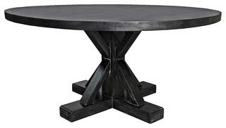 Crisscross Round Table