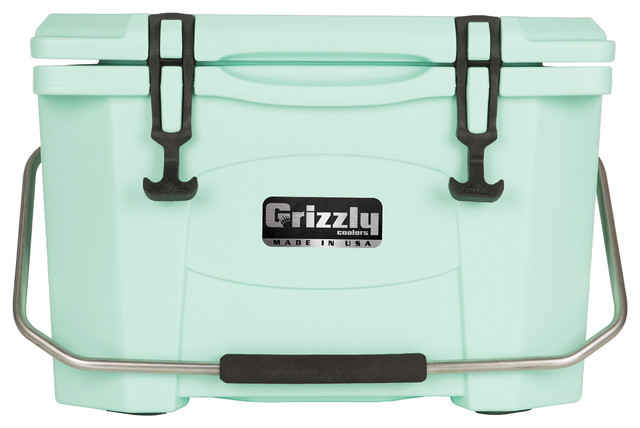 Green Styrofoam Coolers ~ Grizzly quart cooler coolers and ice chests by