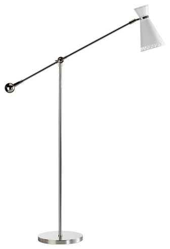 Coast Lamp Rustic Living 2-Paddle With Round Base Floor Lamp, Lakeside
