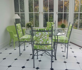 Conservatory Dining Chairs Modern Dining Chairs By Bennington Metal Furniture