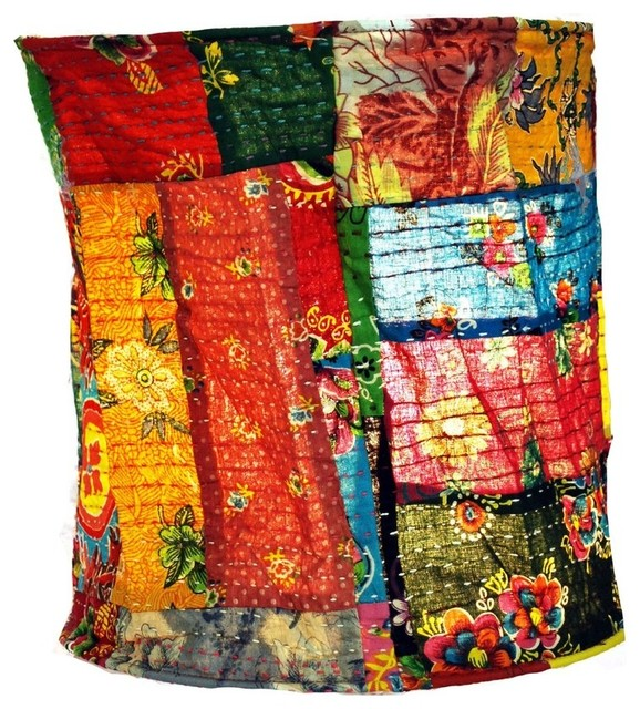 Journey of india lamp kantha eclectic lamp shades by modelli journey of india lamp kantha aloadofball Images