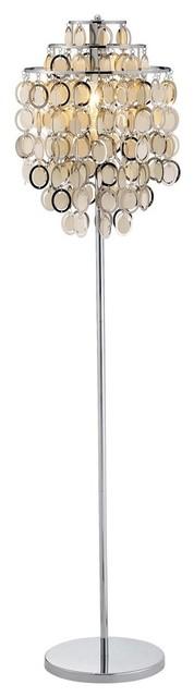 Shimmy Floor Lamp, White.