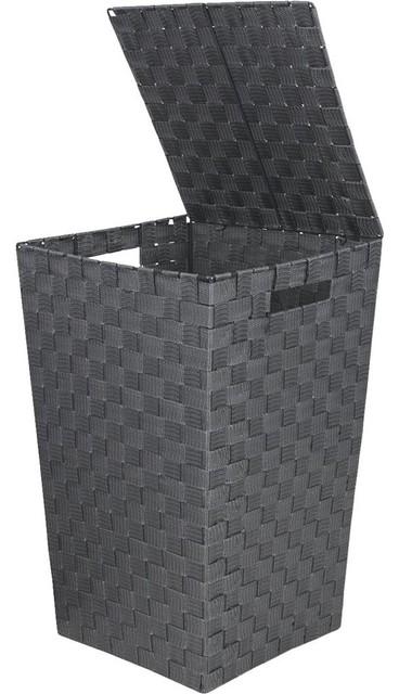 Hipp Hardware Plus Gray Laundry Hamper, 748115-GR