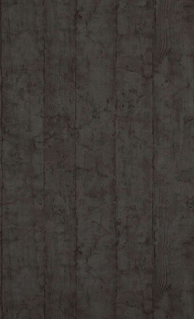 Cracked Wood Wallpaper Dark Blue Double Roll