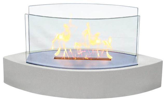 Lexington Tabletop Fireplace Contemporary Tabletop Fireplaces By Trovati Studio