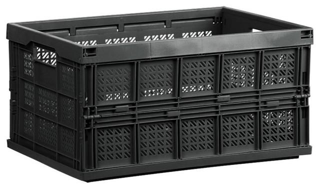 Folding Storage Crate, Medium.
