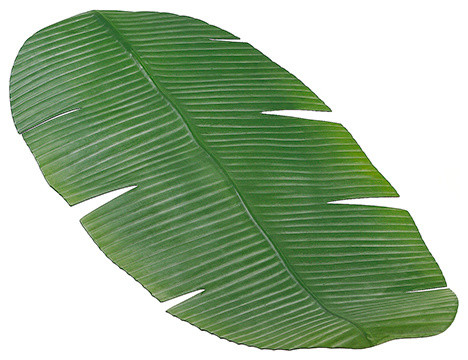 Silk Plants Direct Banana Leaf Table Runner, Pack Of 12 Tropical Table  Runners