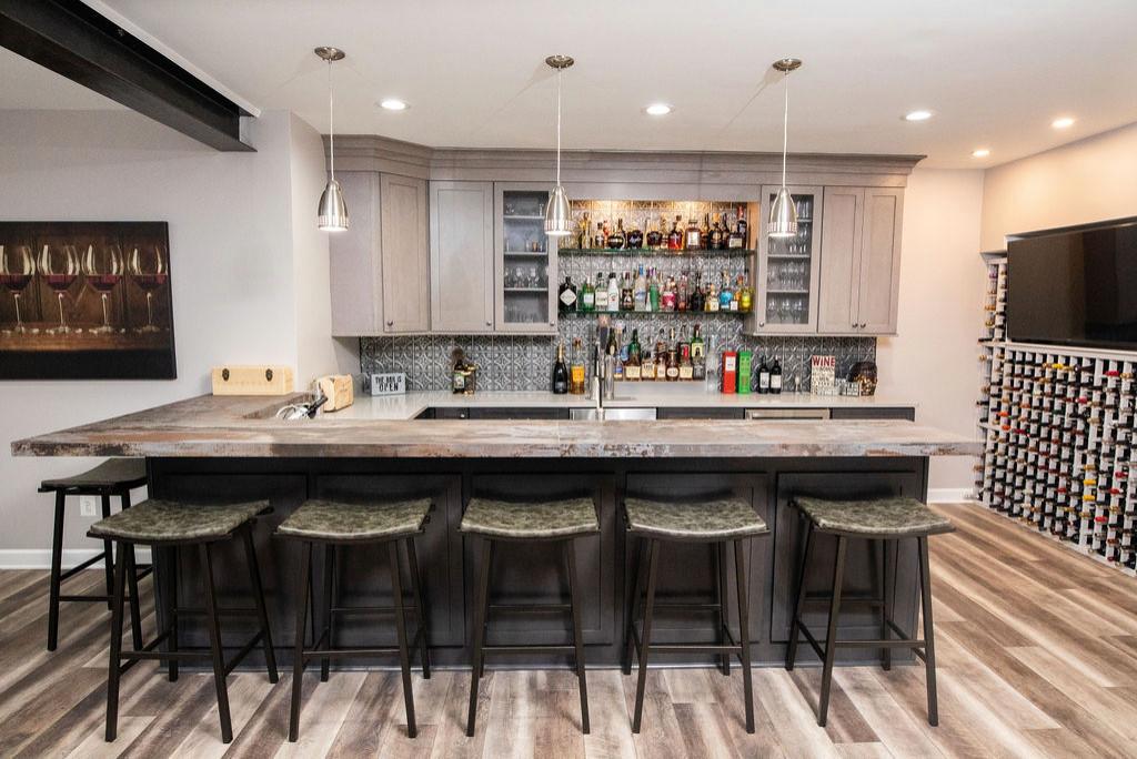 Home design - industrial home design idea in DC Metro