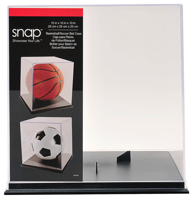 Football Display Case - Transitional - Sports And Game Room ...