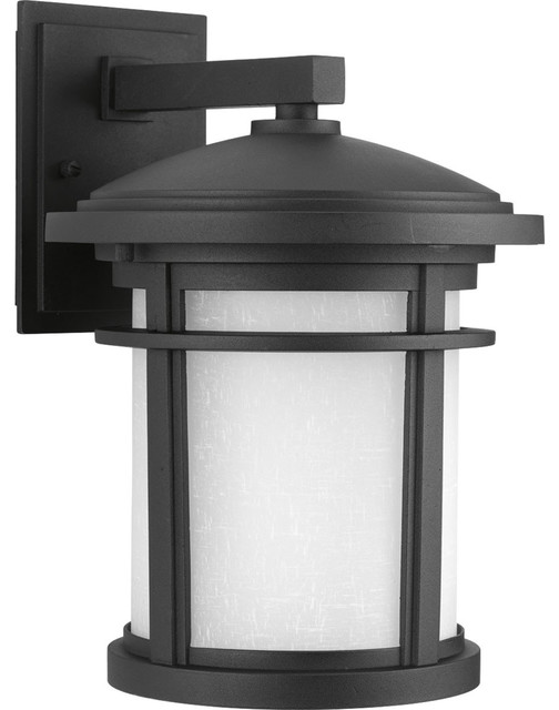 Wish 1-Light Outdoor Wall Lights, Black.