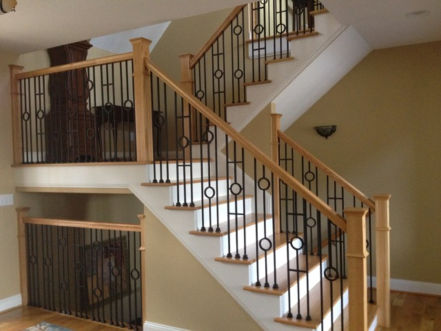 Designer Series Wrought Iron Balusters Modern Other