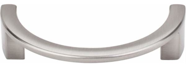 Top Knobs Half Circle Open Pull 3 1/2 Inch ctc Satin ...