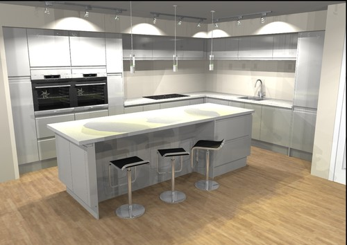 pics of kitchen designs kitchen layout can this be improved 4180