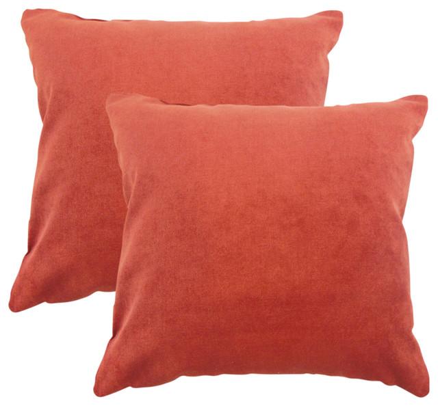 Coal The Pillow Collection Nizar Solid Pillow
