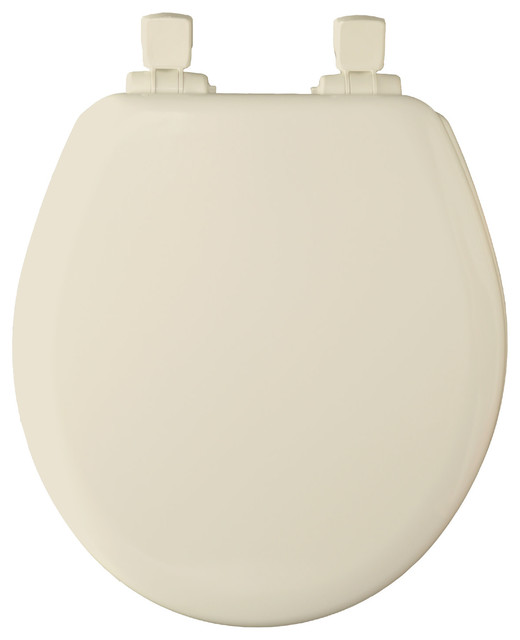 Bemis 483slow Round Closed Front Toilet Seat And Lid With