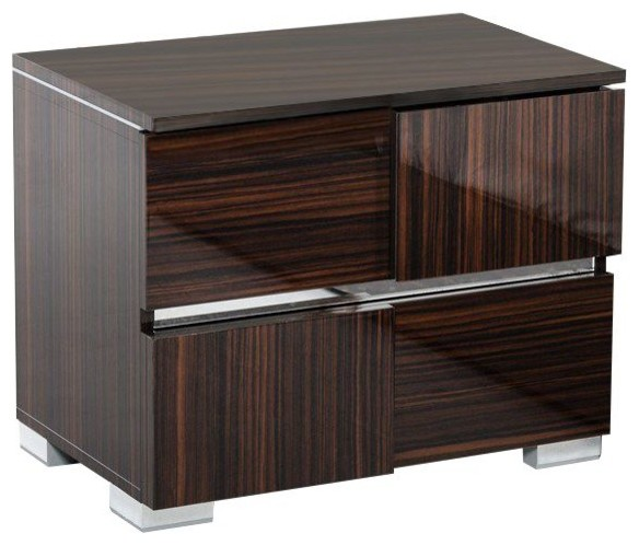 Modrest Picasso Italian Modern Lacquer Nightstand