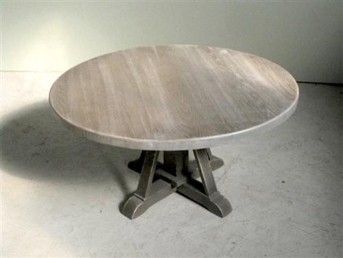 Enjoyable Driftwood Oak Coffee Table With Pedestal Base Country Uwap Interior Chair Design Uwaporg