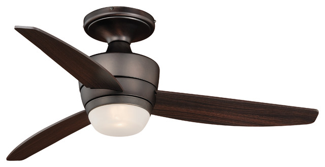 Adrian 44 Flush Mount DC Ceiling Fan Contemporary Ceiling