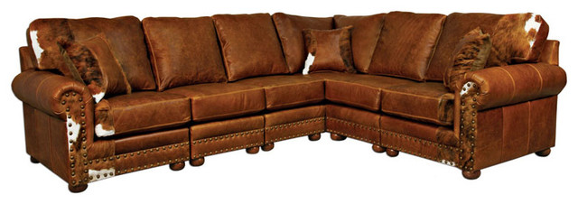 Bon Western Sectional Leather Sofa