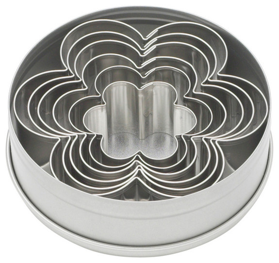 Ateco Graduated Daisy Cookie Cutters, 6-Piece.