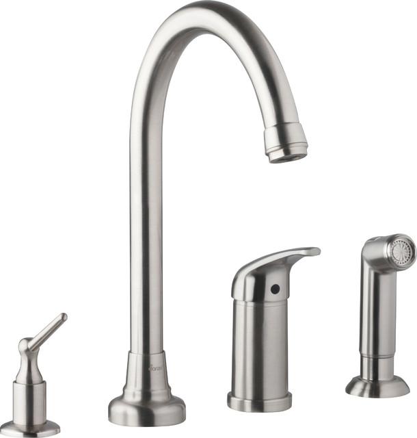 Danze Melrose Widespread 4 Kitchen Faucet, D409112