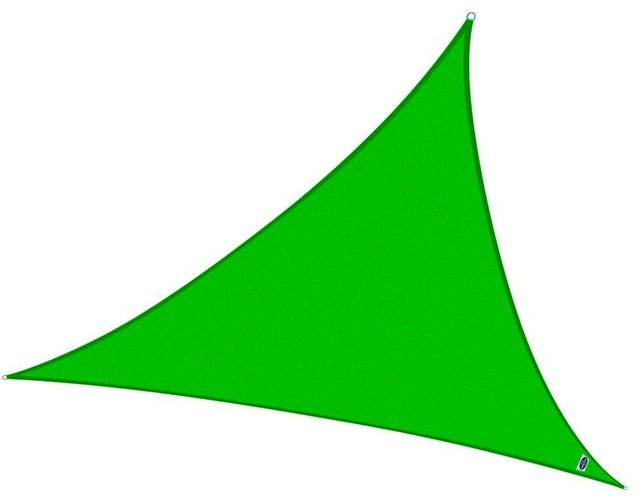 Cool Area Triangle 11&x27;5 Sun Shade Sail, Uv Block Fabric Sail Outdoor.