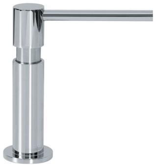 Franke Kitchen Soap Dispenser Chrome Sd 500 Contemporary Kitchen Sink Accessories By Kitchen And Bath Distributor Houzz