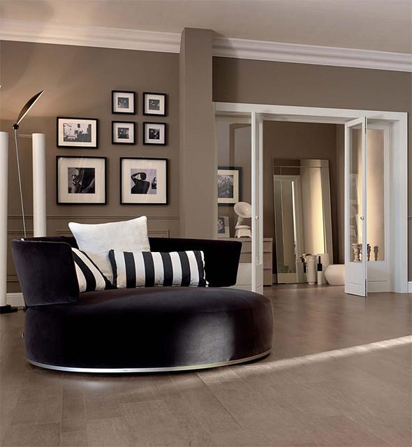 Belgique Gray Contemporary Living Room Part 96