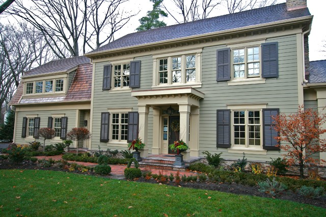 Oakville ontario cape cod style craftsman toronto for Craftsman cape cod