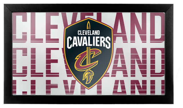 NBA Los Angeles Lakers Framed Logo Mirror