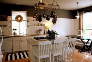 Superior Kitchen Pan Hanger. Kitchen Hanger Houzz