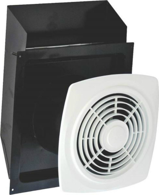 Air king ewf180 bath fan through the wall 180 cfm for 6 bathroom exhaust fan