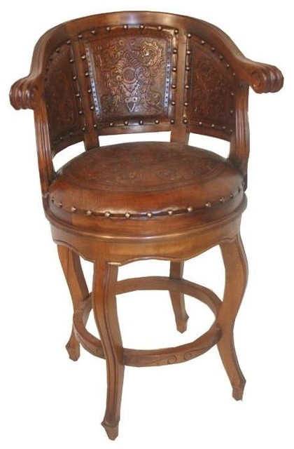 New World Trading Colonial Cardenal Barstool View In