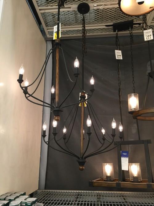 Need Pendant Lighting To Compliment Chandelier