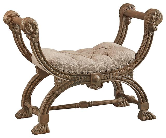 Swell Chanel Bench Creativecarmelina Interior Chair Design Creativecarmelinacom