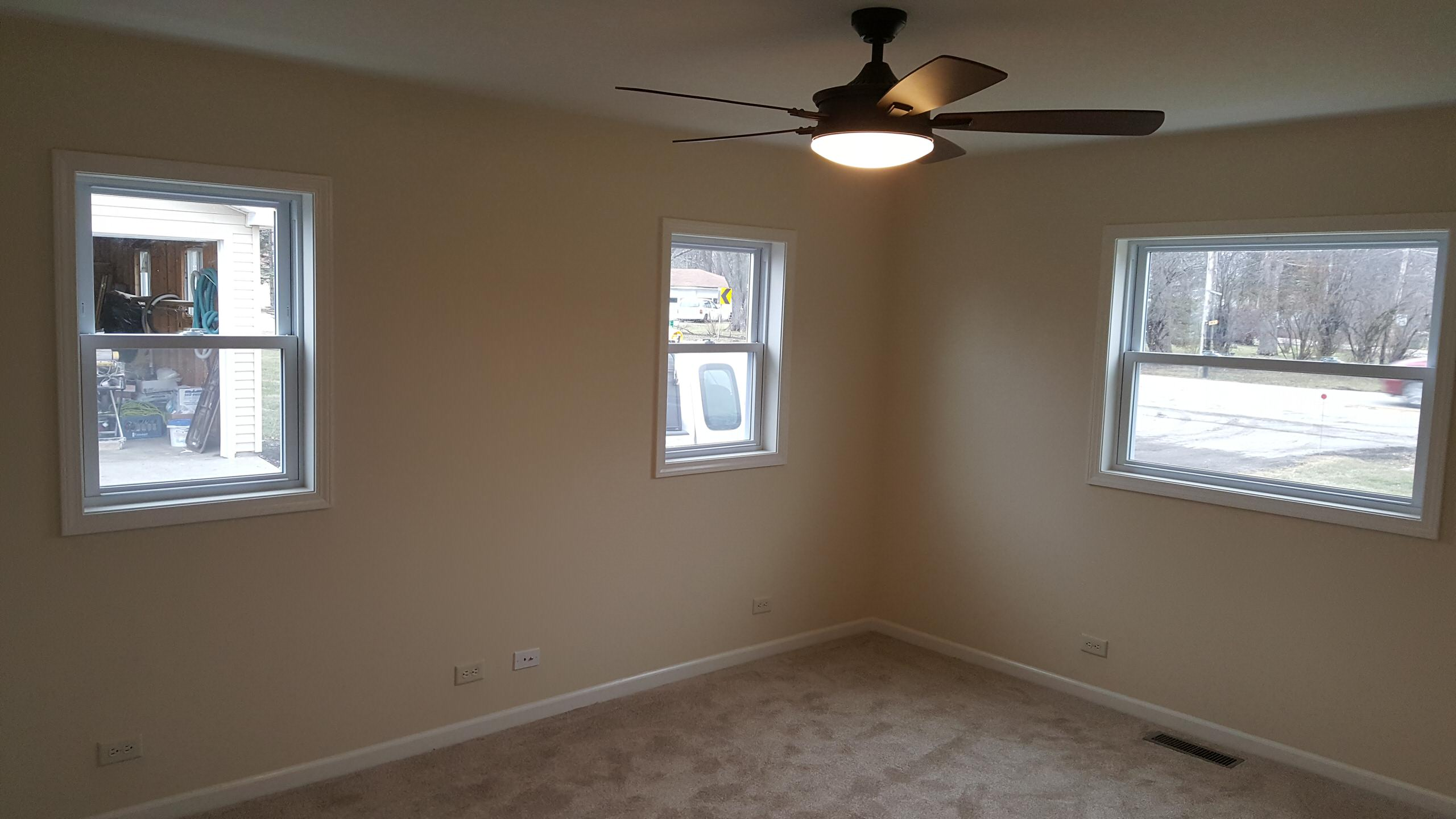 Finished room after full house gut