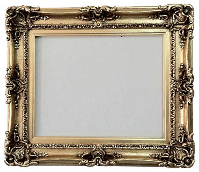 Gold Leafed Picture Frame Traditional Picture Frames By Fancydecor