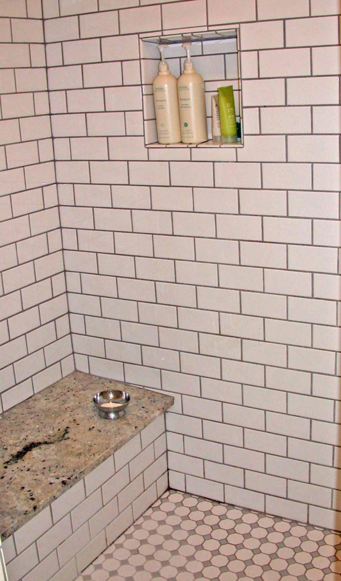 Period master bathroom