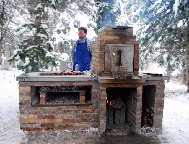 Barbecue Smoker Grill - Contemporain - Salt Lake City - par ...