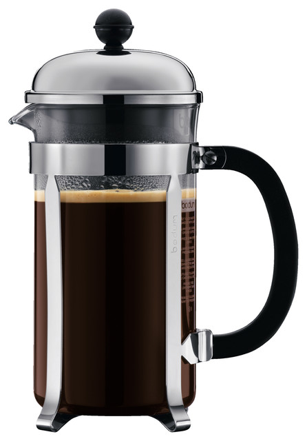 Bodum Chambord Coffee Maker, 8 Cup, 1.0 L, 34 Oz, Matte