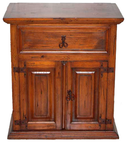 Estate Mansion Nightstand by Million Dollar Rustic