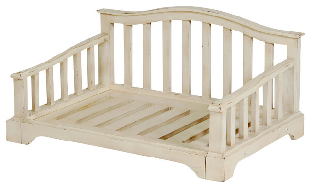 Wooden French Country Pet Bed Frame Small