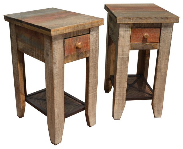 bayshore side tables set of 2 farmhouse coffee table