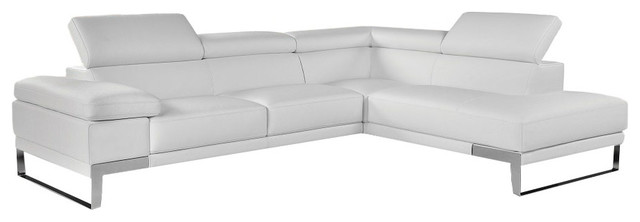 Awesome Nocolett Modern Style Italian Leather Sectional Sofa Contemporary Sectional  Sofas