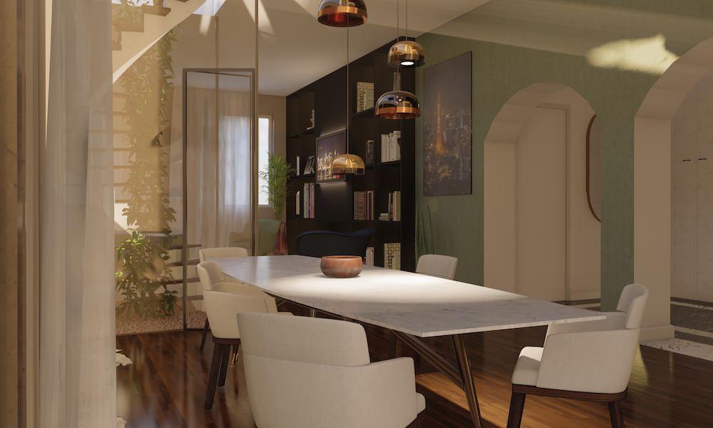 Gio Ponti - Restyling appartamento milanese